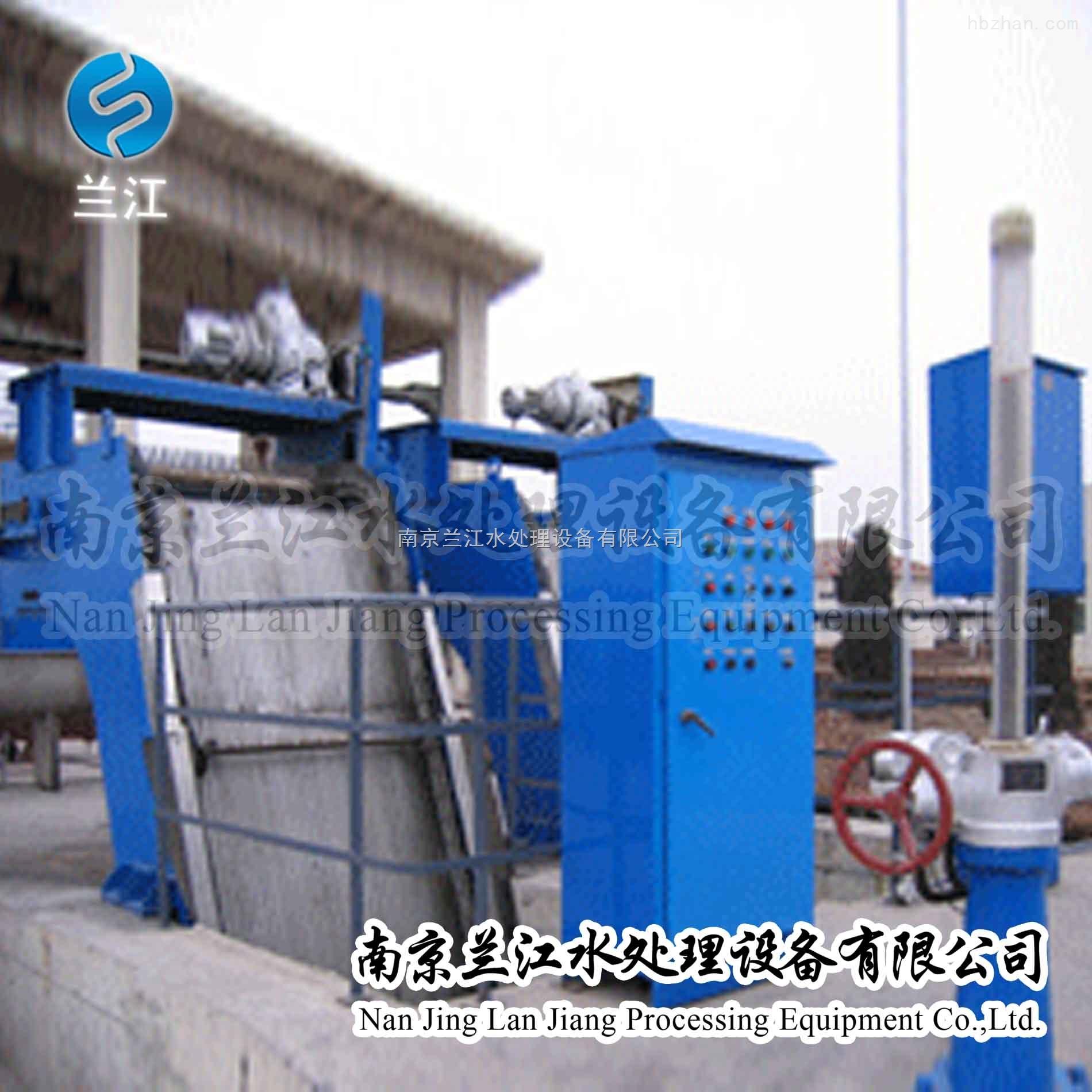 GSHP800回转耙式格栅清污机