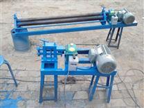 鐵皮保溫施工專用電動鐵皮壓邊機價格、電動卷圓機