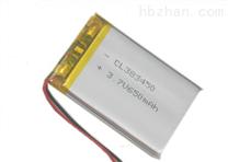厂家直销383450聚合物锂电池,MP4 蓝牙电池