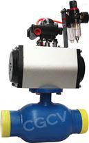 氣動焊接球閥DN80