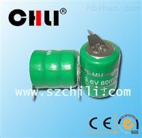 厂家供应3.6v80mah镍氢组合电池,出片不漏液