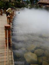 人工湖冷雾设备安装