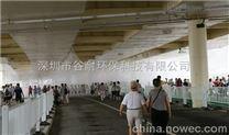 深圳玻璃屋顶喷雾降温设备