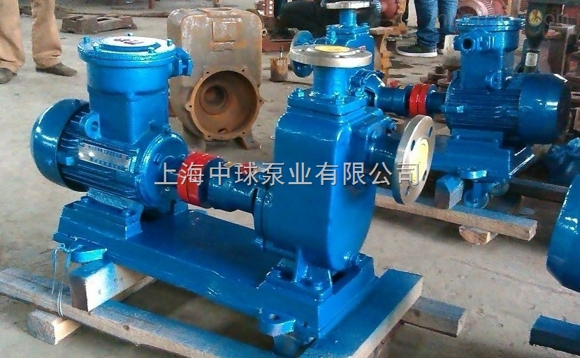 125ZX120-32工业清水自吸泵