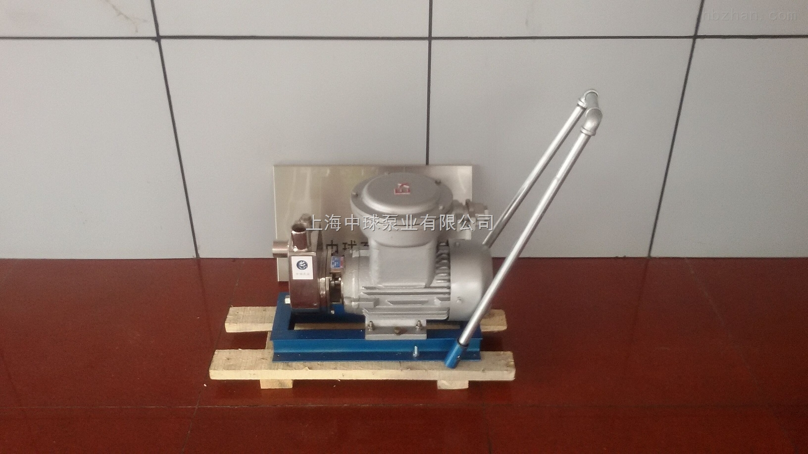 SFBX不锈钢移动式防爆自吸泵
