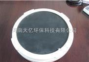 老曝气池改造新曝气池安装膜片式微孔曝气器