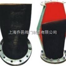 XH41排污橡胶止回阀(法兰式鸭嘴阀)