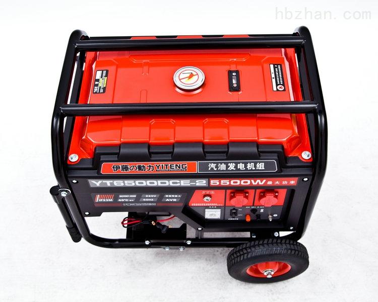 5千瓦三相四线汽油发电机