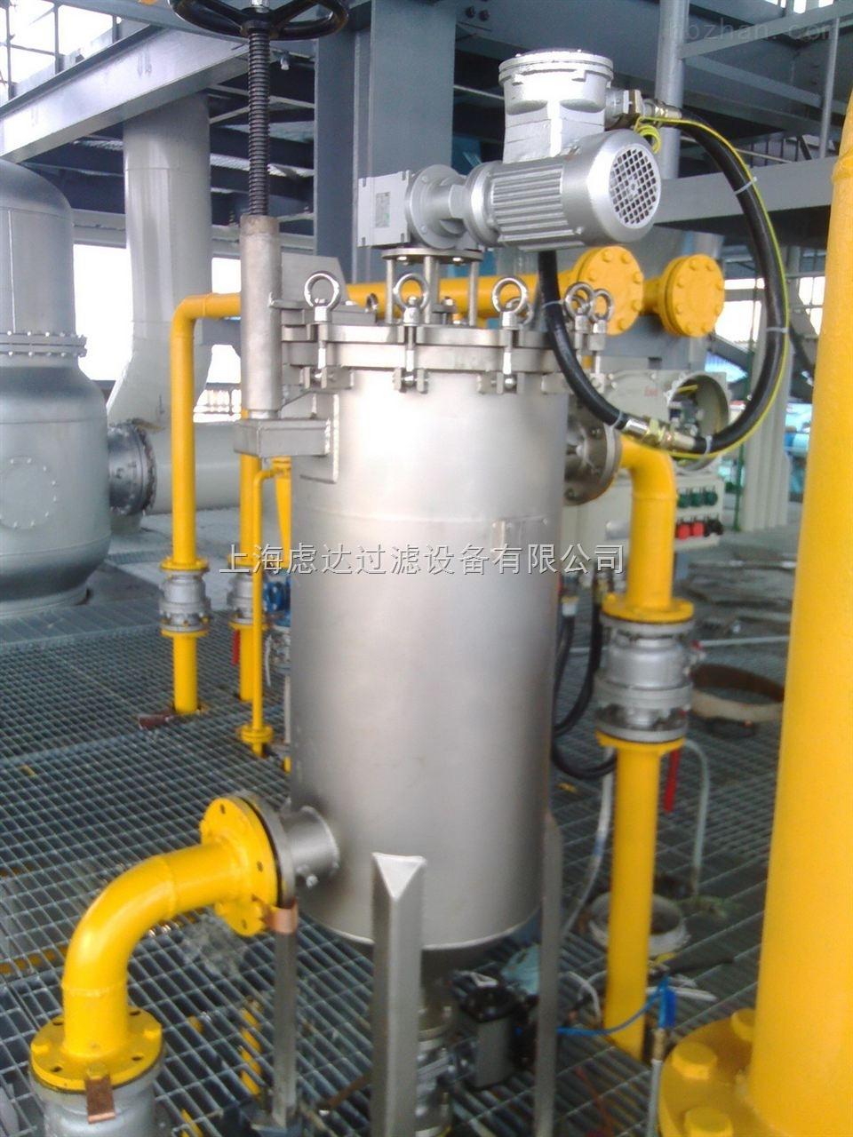 气缸驱动自清洗过滤器