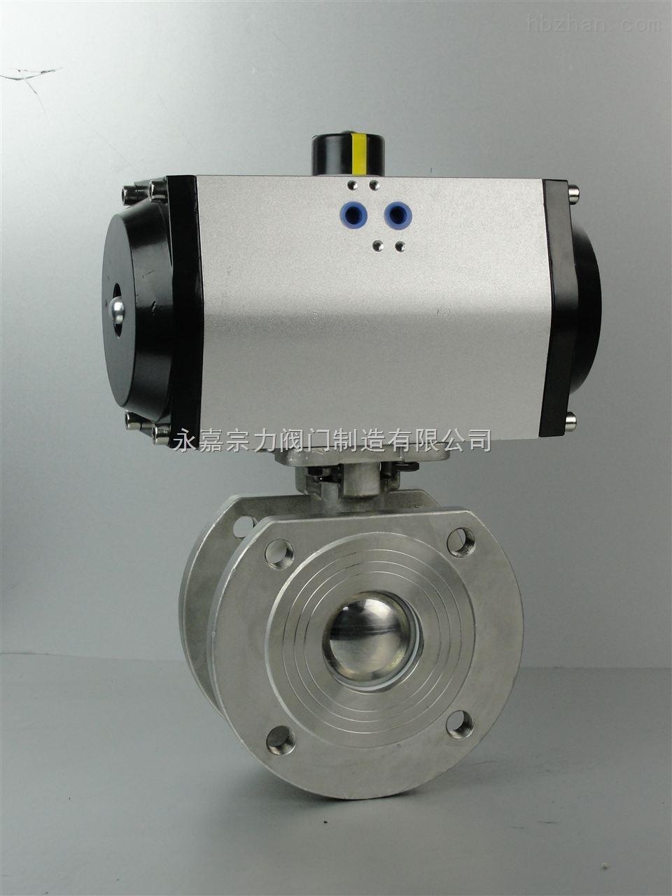 bv1-气动二通防爆调节薄型球阀bv1-供求商机-永嘉宗图片