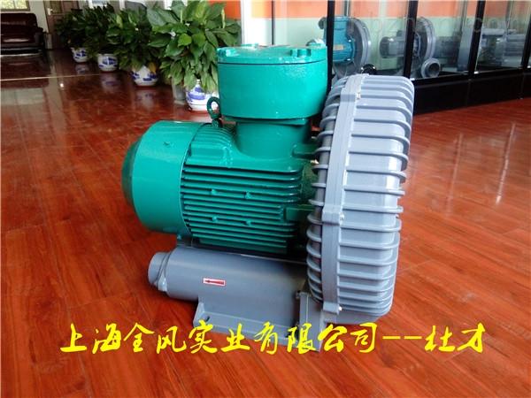 垃圾处理站沼气输送专用防爆鼓风机