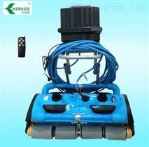 游泳池双排2×2超级海豚全自动智能清洁机器人 水处理设备