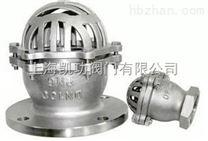 H12W不鏽鋼絲扣底閥-不鏽鋼法蘭式底閥上海凱功廠家