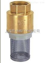 H12X-16T黃銅帶網底閥-內螺紋底閥