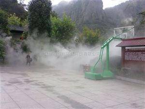 北京市景区造雾工程