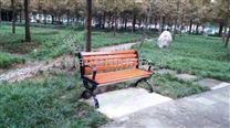 公园椅hcy057带靠背休闲座椅