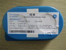 WHATMAN AE98硝酸纤维素过滤膜25mm直径5um孔径10400206