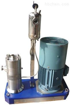 石墨烯粉粒乳浊液在线式研磨分散机