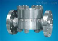 CS49H铸钢法兰高温高压热动力圆盘式蒸汽疏水阀
