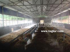 云南家禽市場智能環保噴霧降溫消毒設備/專業噴霧降溫工程技術