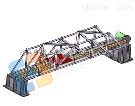 移动桥梁模型静载强度测试机#桥梁模型移动载荷试验