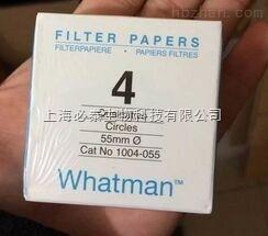 Whatman 沃特曼4号滤纸Grade4定性滤纸