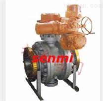 Q947固定式電動球閥,蒸汽電動固定球閥