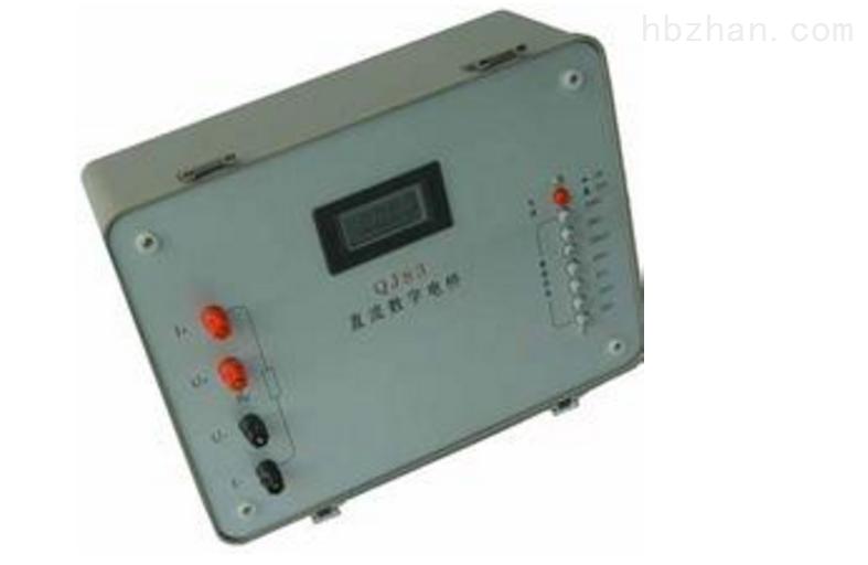 已获点击: 50 【简单介绍】数字直流(单臂)电桥使用方便,不需要调零