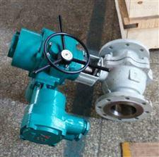 220v電動鑄鋼法蘭球閥