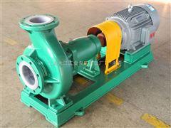 IHF80-50-200A上海IHF系列氟塑料衬里离心泵
