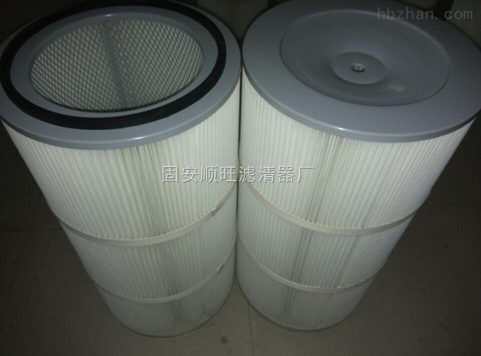 供应电厂除尘设备专用覆膜除尘滤芯350*660