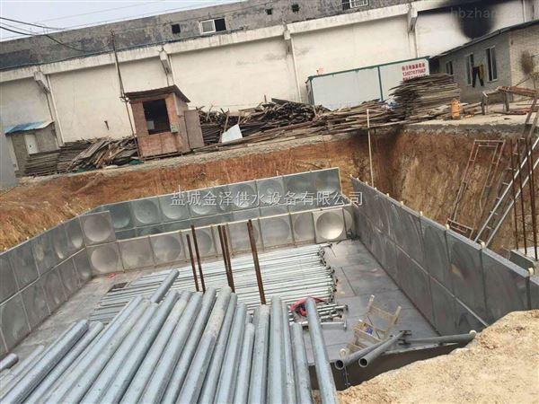 福建莆田地埋式箱泵一体化恒压泵站包验收
