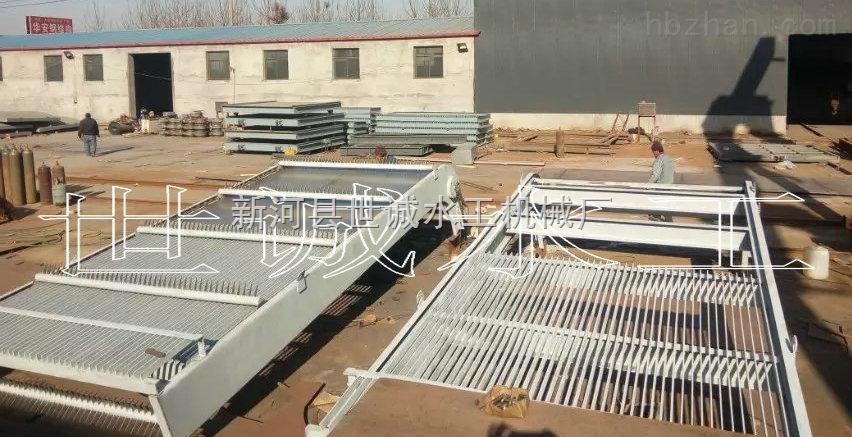 HZ-GS2m*18m-雨水泵站用格栅清污机回转式格栅清污机