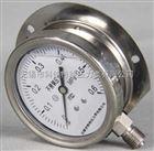 径向带边不锈钢压力表型号规格,量程,精度