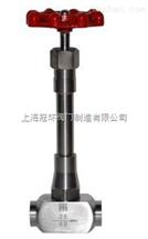 DJ11W-40P低溫長軸針閥