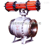 Q647M气动固定式球阀