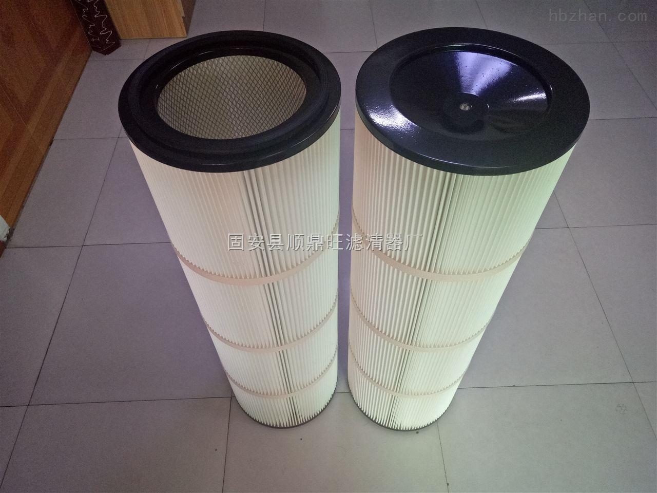 抛丸机粉尘滤筒350*240*1000聚酯纤维滤芯