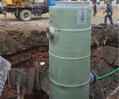 污水提升泵站玻璃钢一体化污水提升泵站工程案例