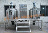 多功能真空不锈钢电加热制药配液反应搅拌罐