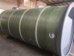 3200*8500mm璃钢井筒地埋一体化污水提升泵站