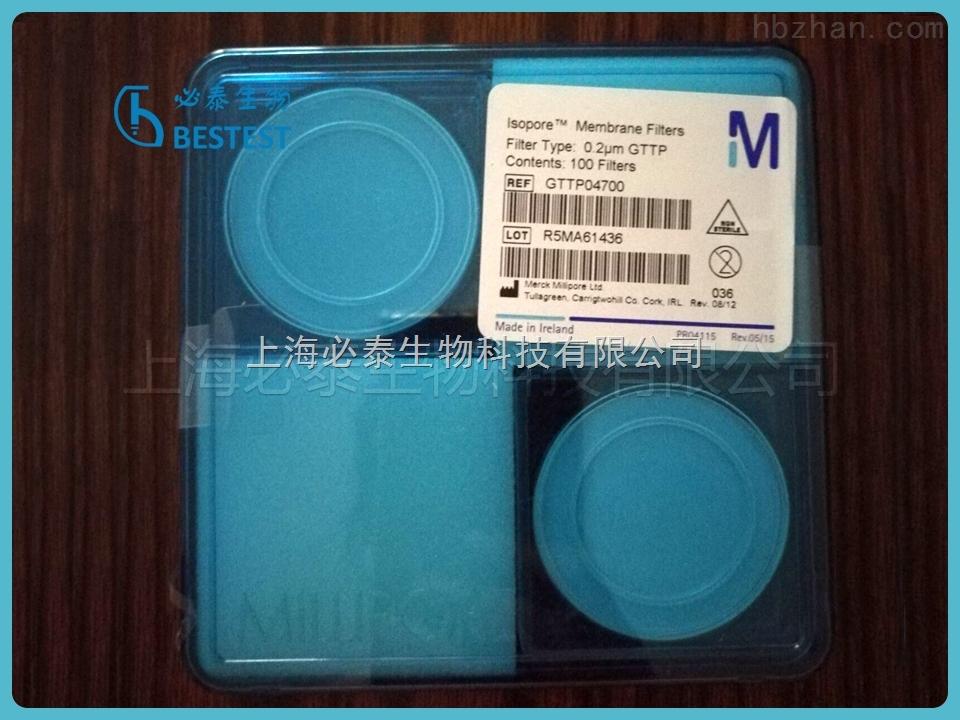美国Merck Millipore密理博 0.22UM 47MM聚碳酸酯过滤膜 PC膜