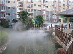 深圳公园/假山/喷泉人工造雾技术专家/大型景区景观造雾工程案例