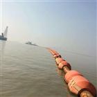 FT新疆组合式管道浮筒 两边片管道浮体厂家