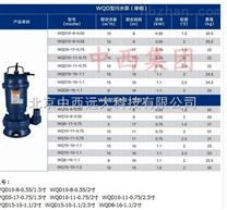 中西(LQS)污水潜污泵 型号:库号:M19823