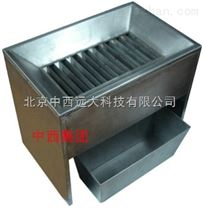 中西鐵板噴塑橫格式分樣器庫號:M109670