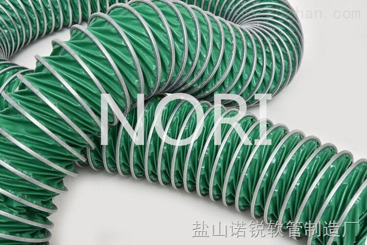 直径500螺旋式三防布铝夹风管