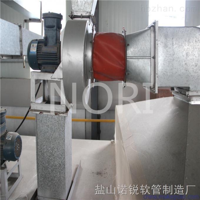 石材机械通风伸缩软连接