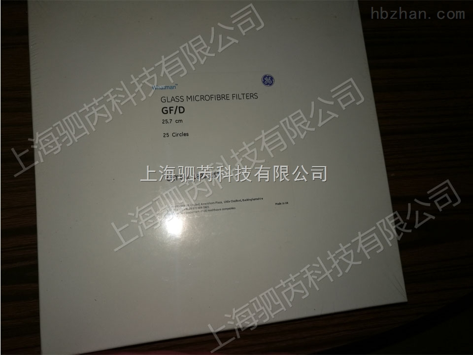 原装进口GE Whatman GF/D纯玻璃微纤维滤膜 膜过滤装置配件