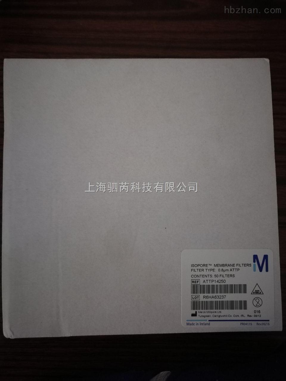 默克密理博Millipore142mm聚碳酸酯膜0.8um孔径Isopore表面滤膜