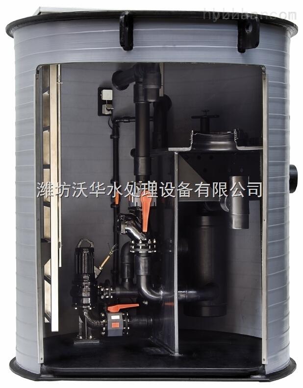 山东一体化污水泵站